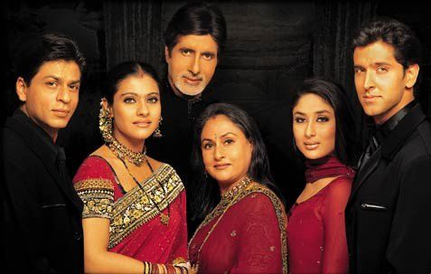 La famille indienne kabhi khushi kabhie gham bolly in - Coup de foudre a bollywood film complet ...