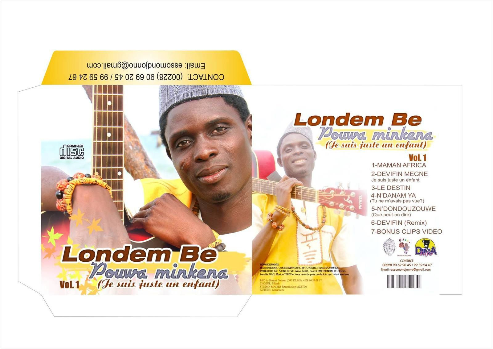 L'album de Londem Be bientôt disponible