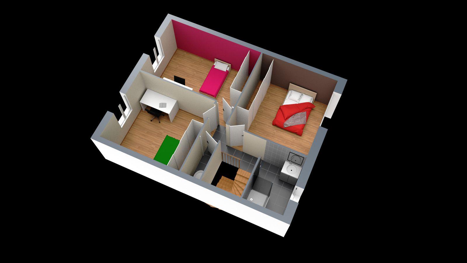 Interieur 3d eric tasca portfolio for Interieur 3d