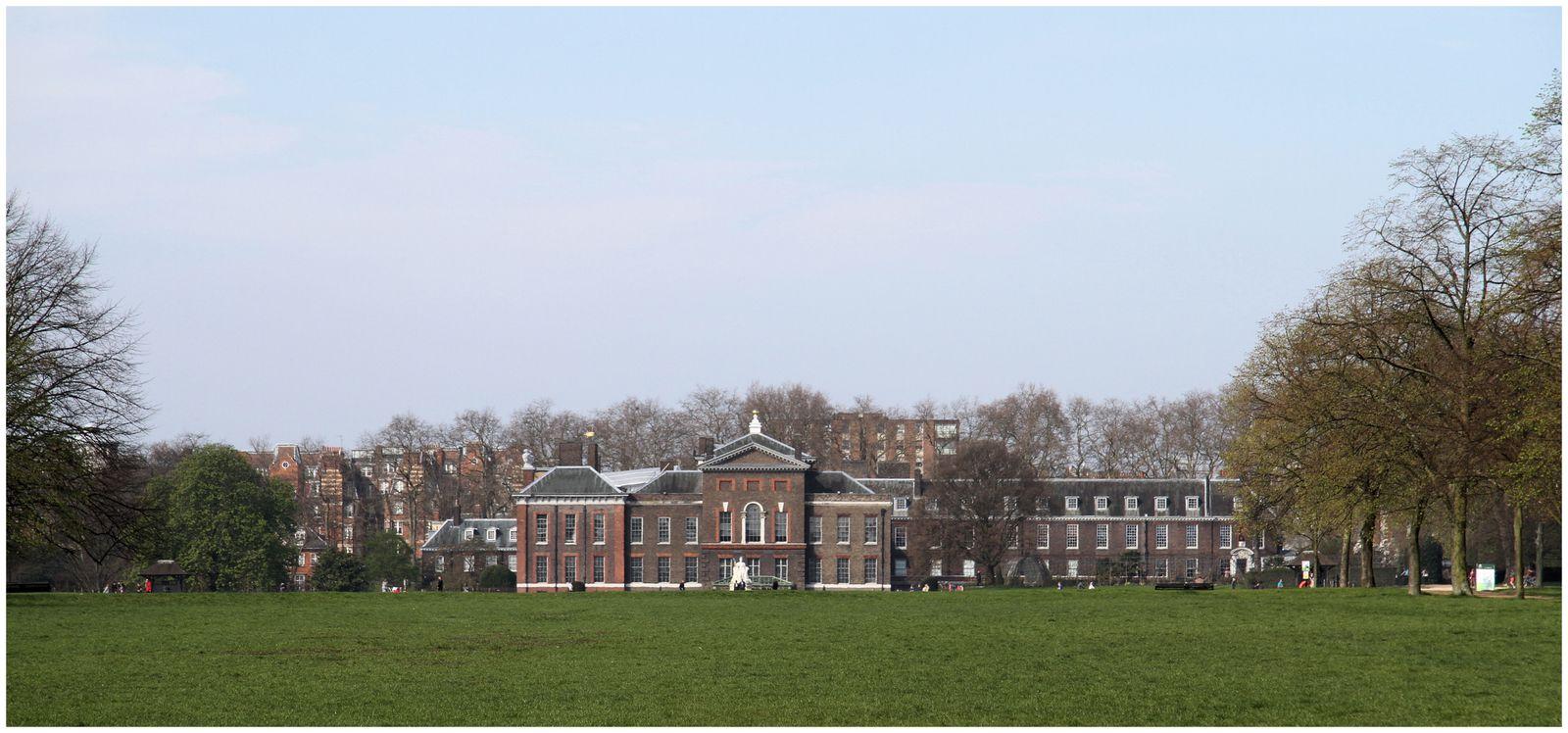 Hyde Park et ses fontaines,Kensington Palace,des rencontres amusantes.