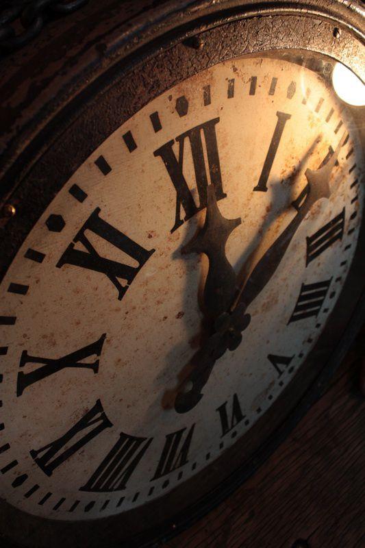 Horloge industrielle XIX ème