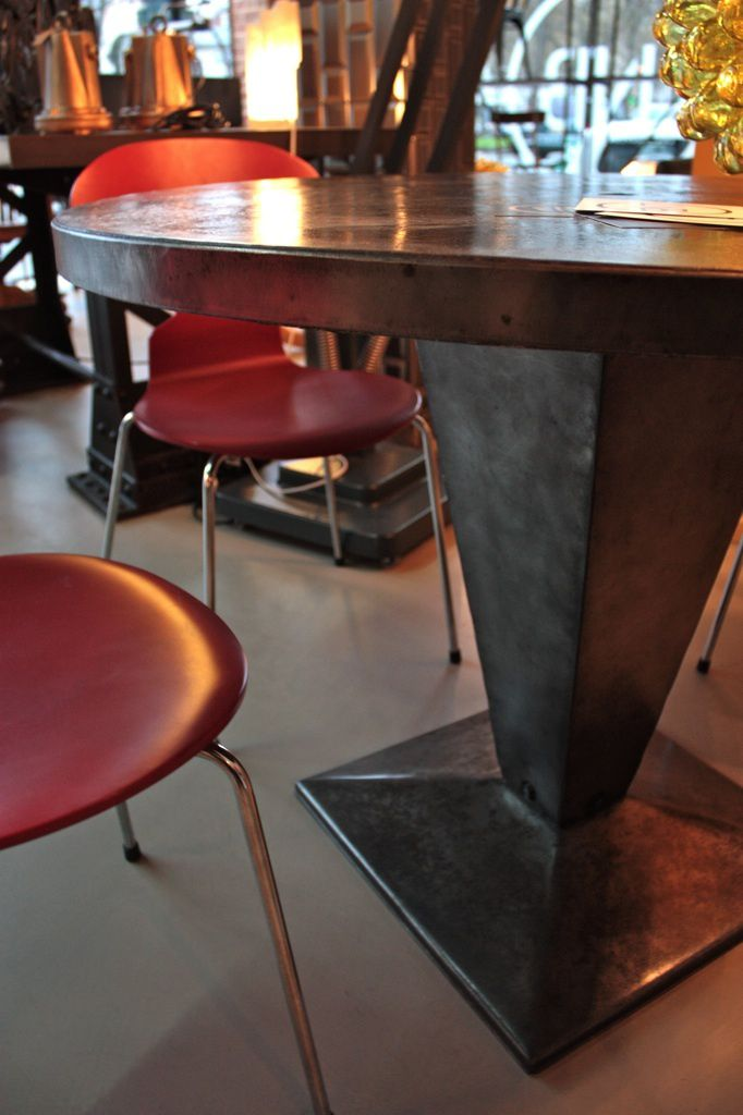 Table bistrot Tolix