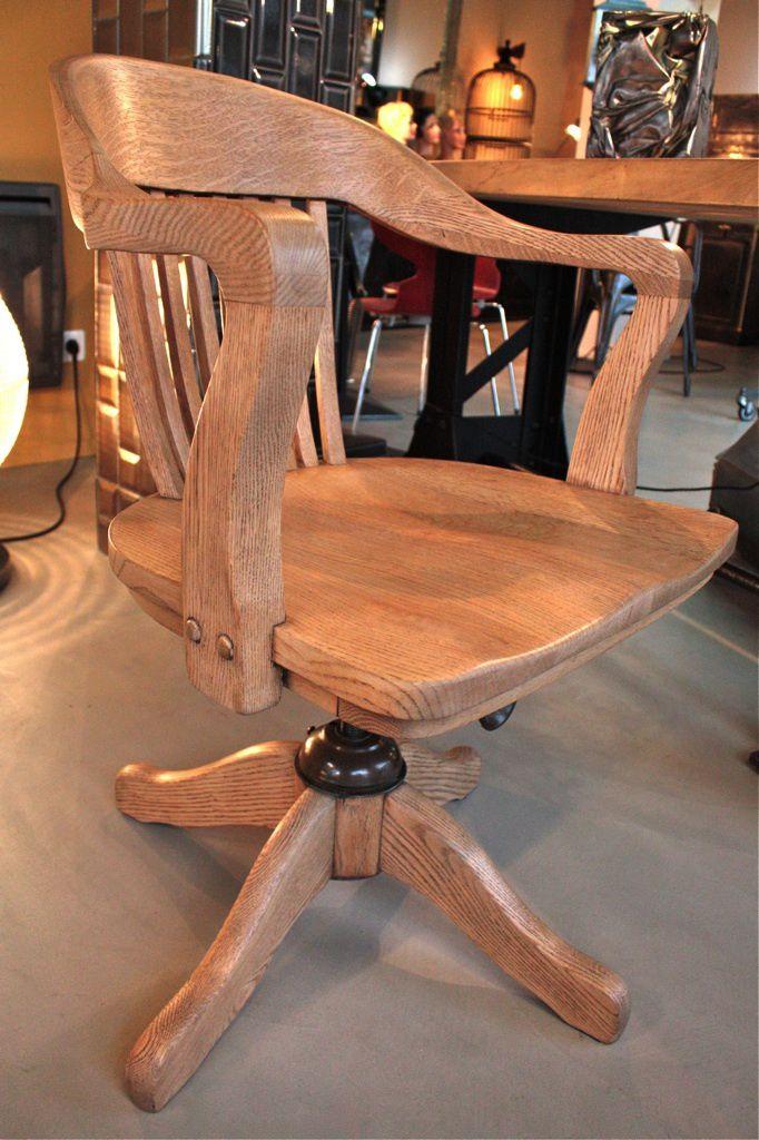 fauteuil de bureau américain -vendu-