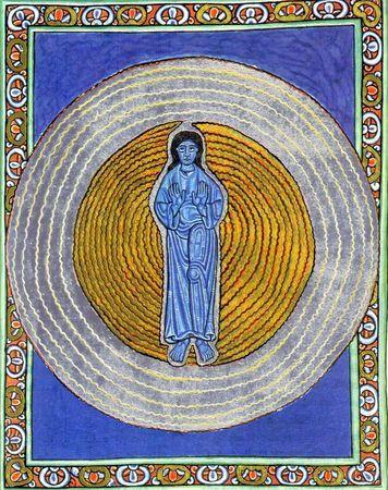la Sainte Trinité de Sainte Hildegarde de Bingen