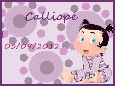 Callipé, la fille de Meghane (clique pour voir le FP en taille réelle)