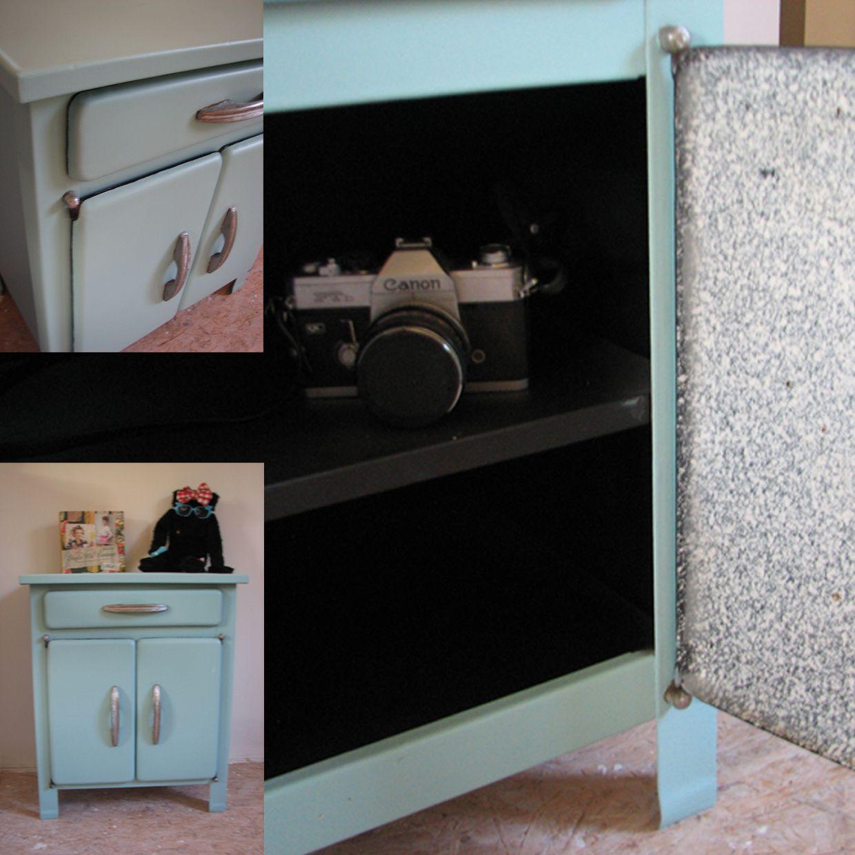 R novation d 39 un meuble de cuisine des ann es 50 besopinup for Meuble cuisine annee 50
