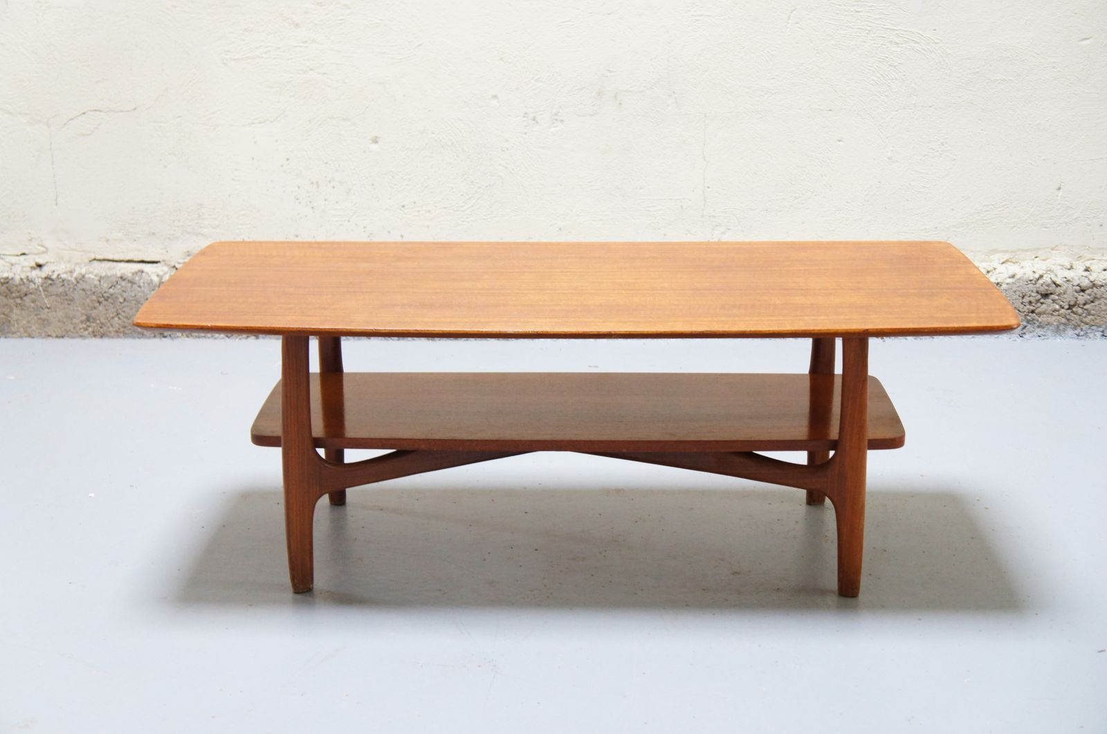 Vendu table basse scandinave vintage design danois teck - Table de salon style scandinave ...