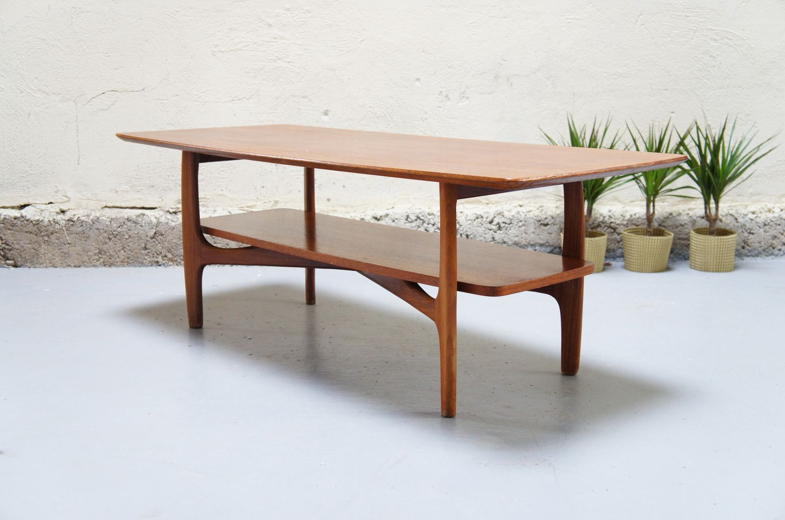 Vendu table basse scandinave vintage design danois teck - Table basse scandinave annee 50 ...