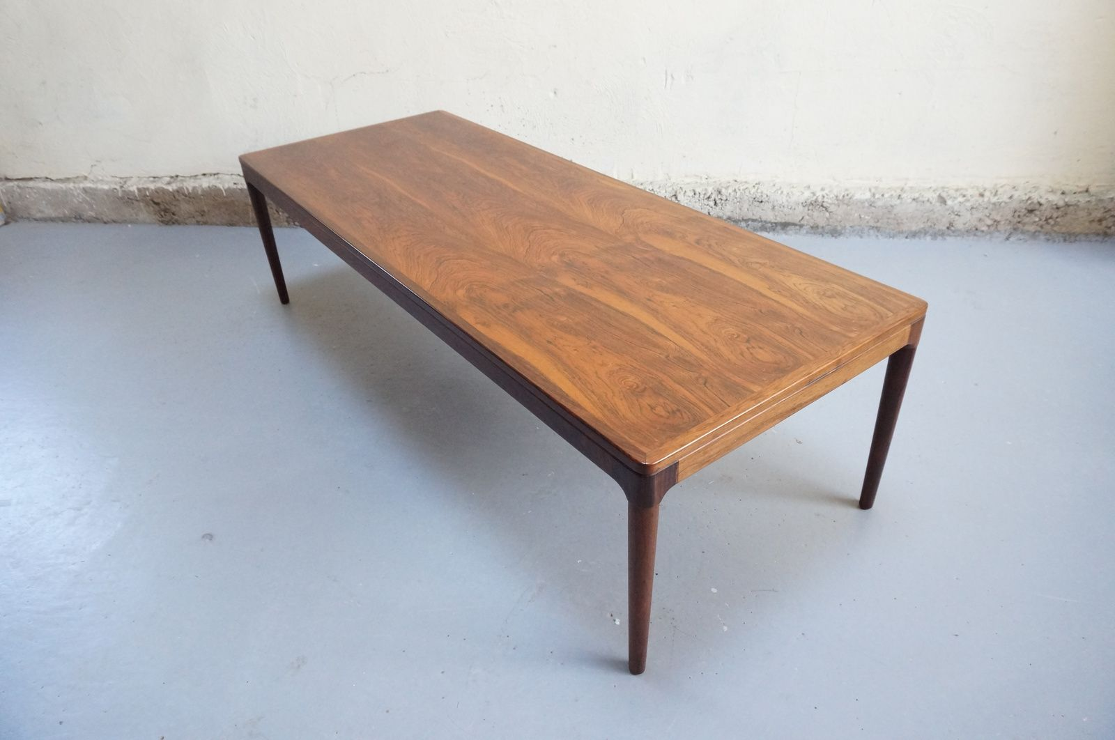 Table basse scandinave palissandre de rio salon design - Table basse palissandre ...
