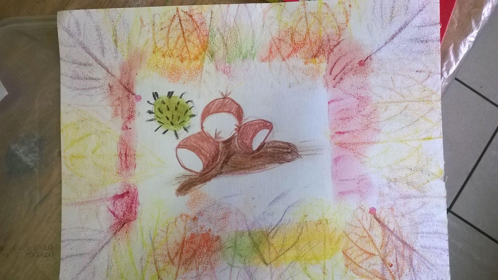 craie de cire, pastel sec et dessin