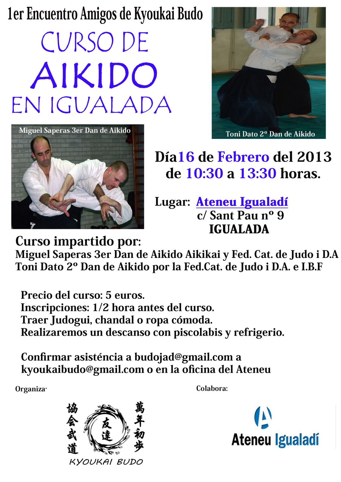 2013-02-16 - Miguel Saperas / Toni Dato