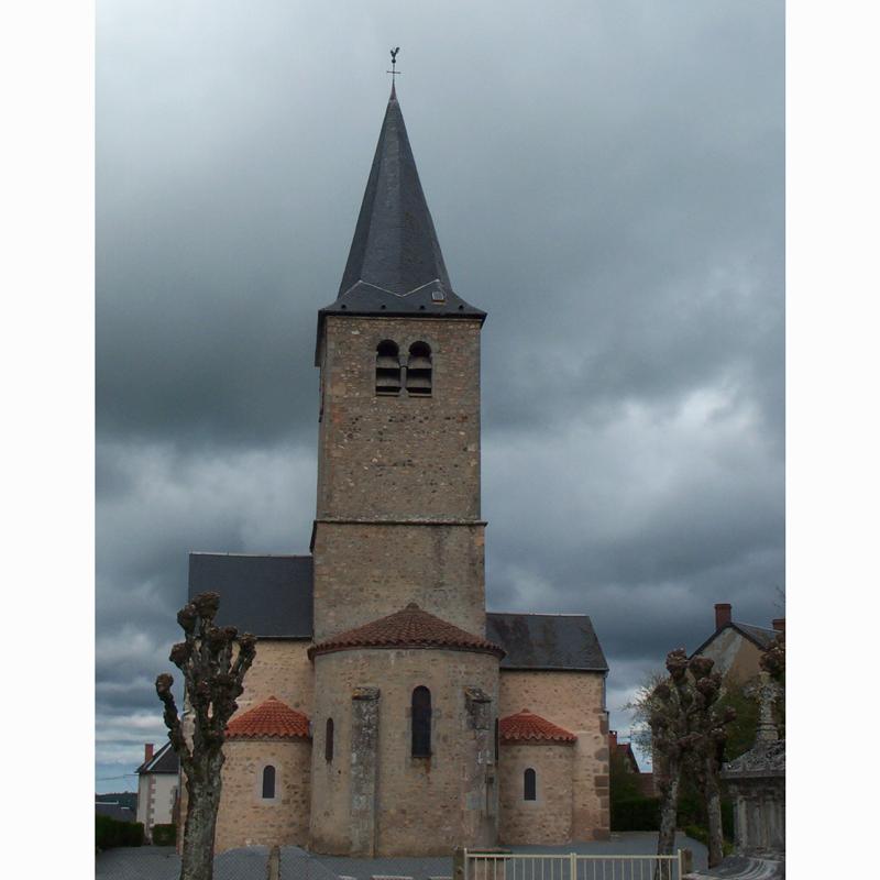 Travaux sur l'église Saint Maurice de Millay