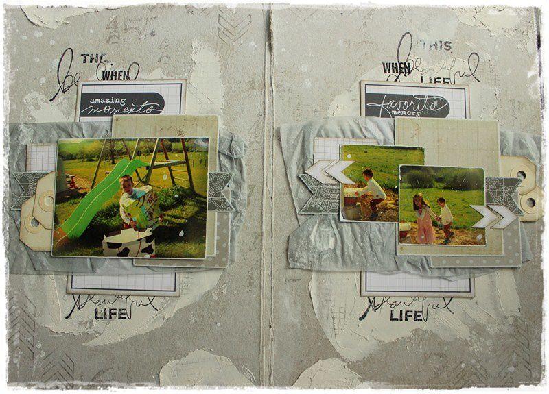 album &quot&#x3B;wonderful life&quot&#x3B; d'Elodie TOUZET