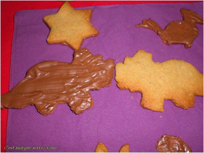 Biscuits type Dinausorus