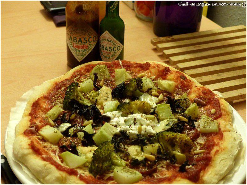 Pizzas quatre fromages améliorées