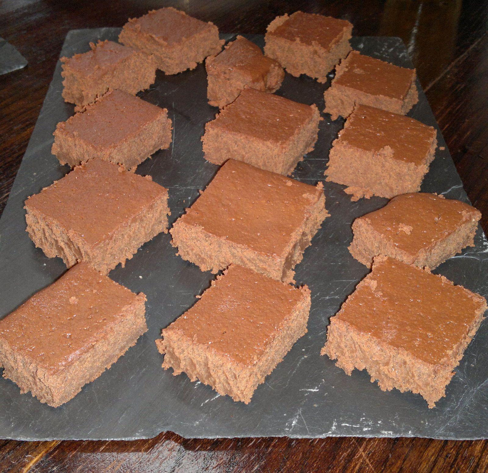 Moelleux au chocolat à la compote de pommes (sans beurre)
