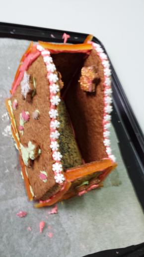 Structure en pain d'épices
