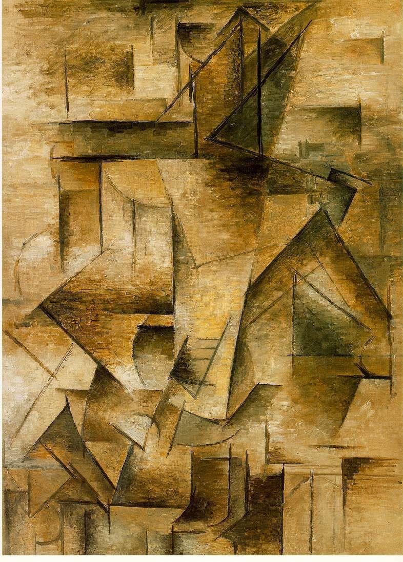 Le joueur de guitare - Pablo Picasso - 1910 (période analytique)