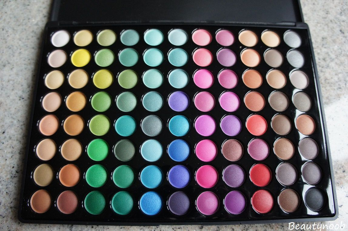 Coastal scents 88 color eye shadow palette!