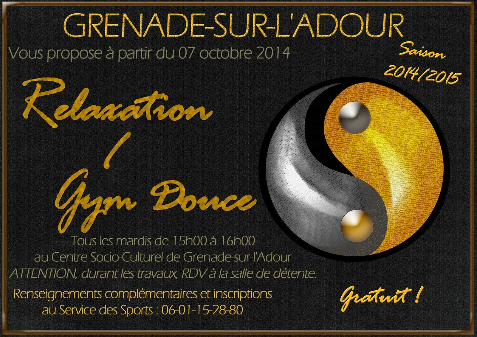 Gym douce - relaxation