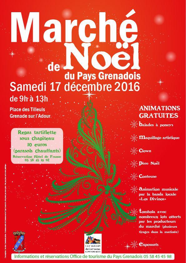 Marché de Noël - Samedi 17 décembre 2016