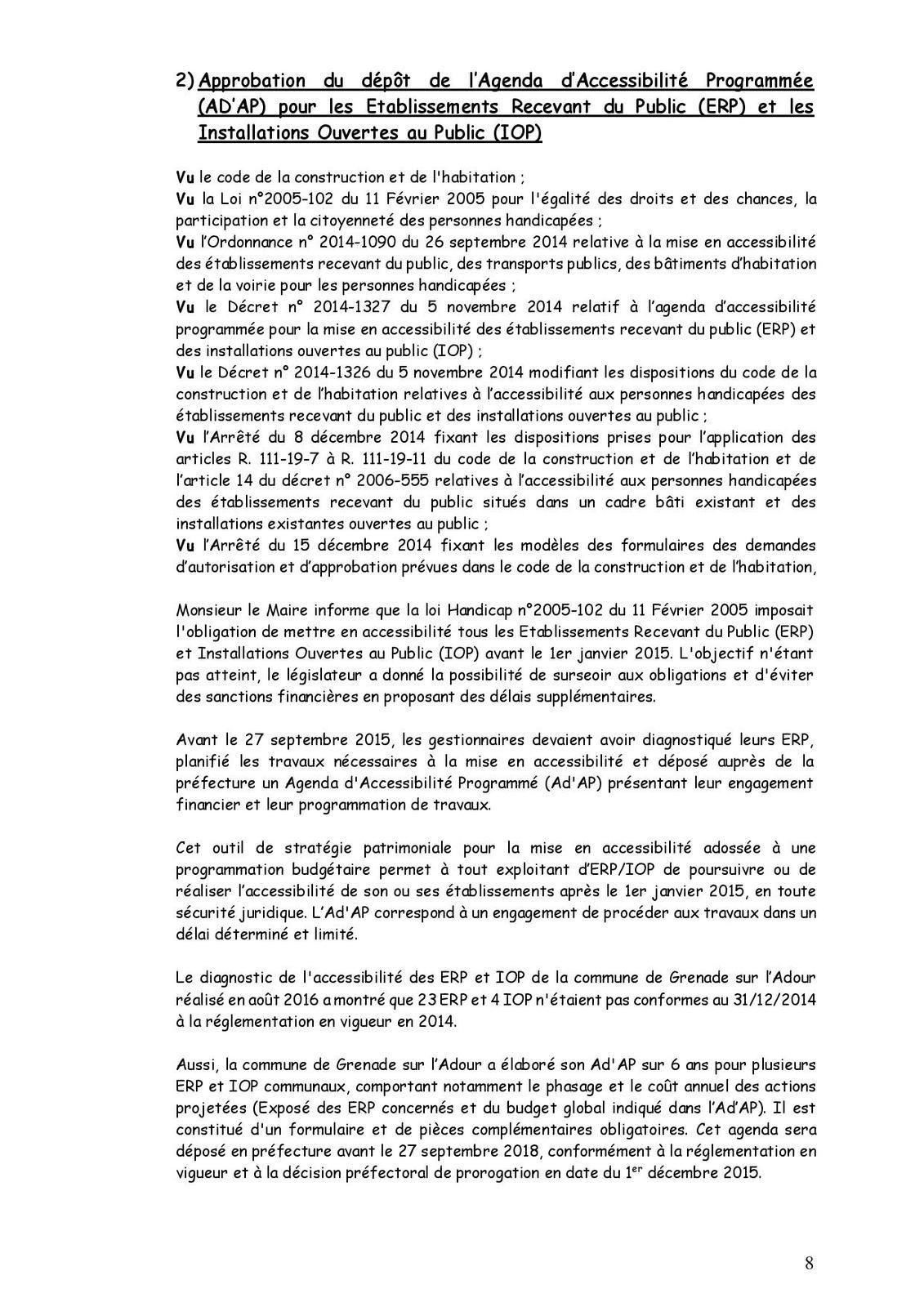 PV de la réunion du Conseil Municipal du 24 janvier 2017
