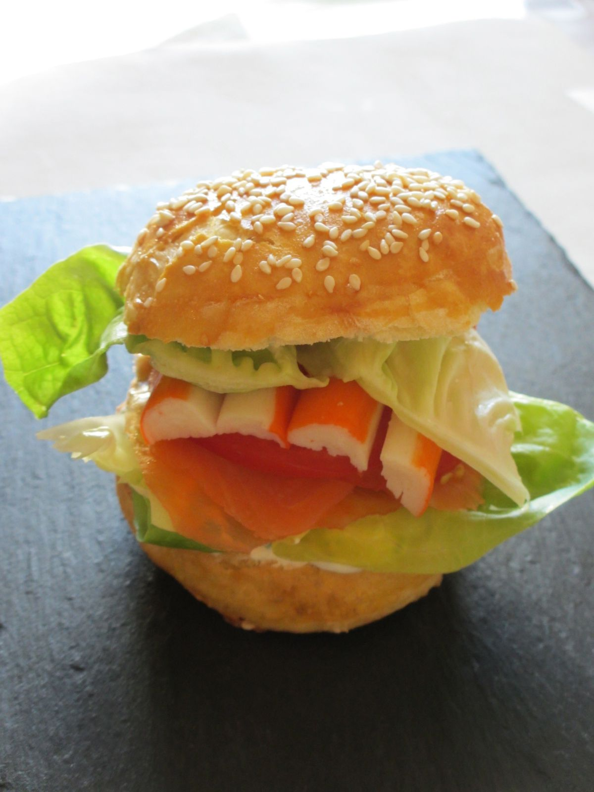 Hamburger de la mer