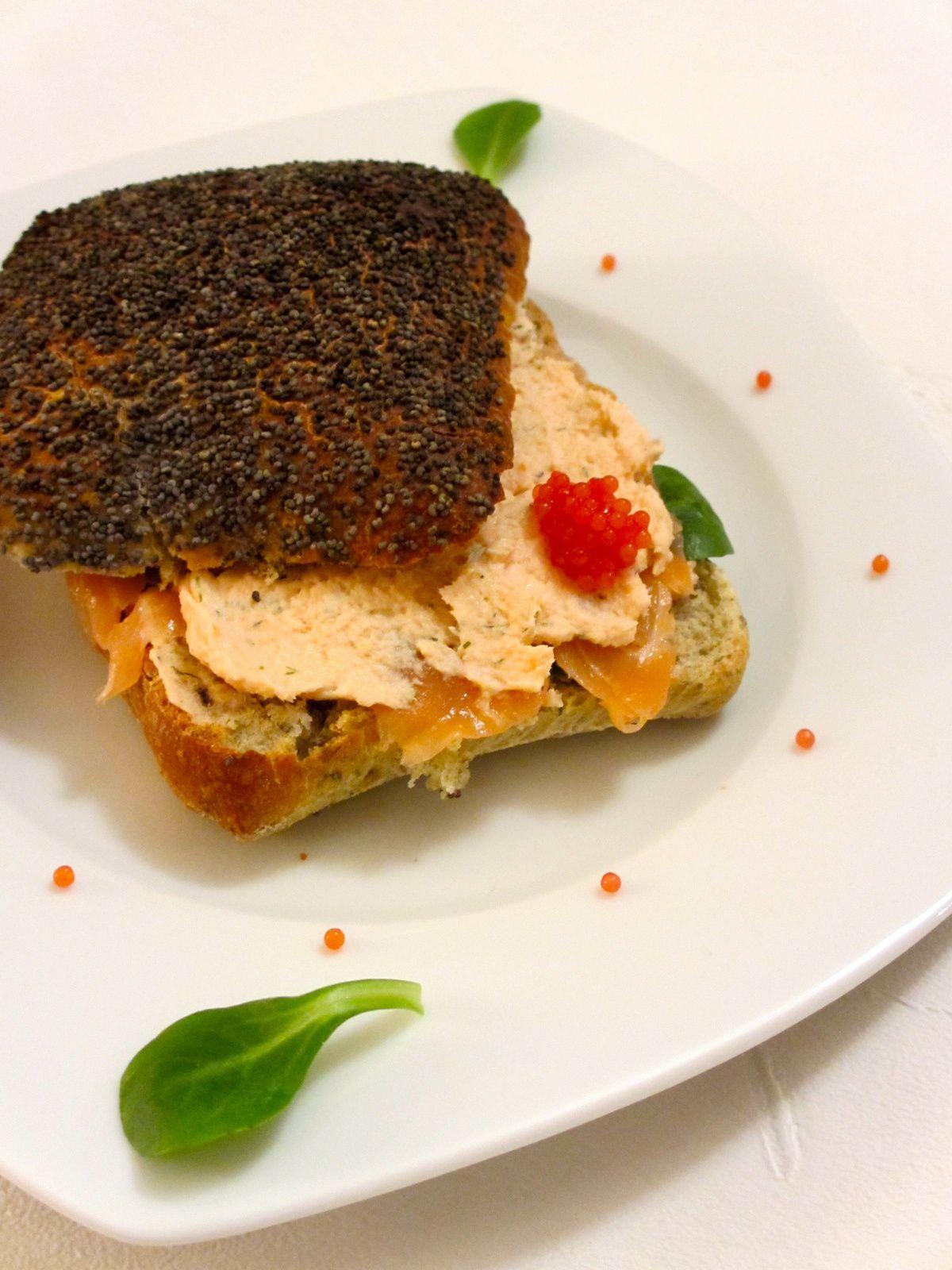Sandwich saveur des mers