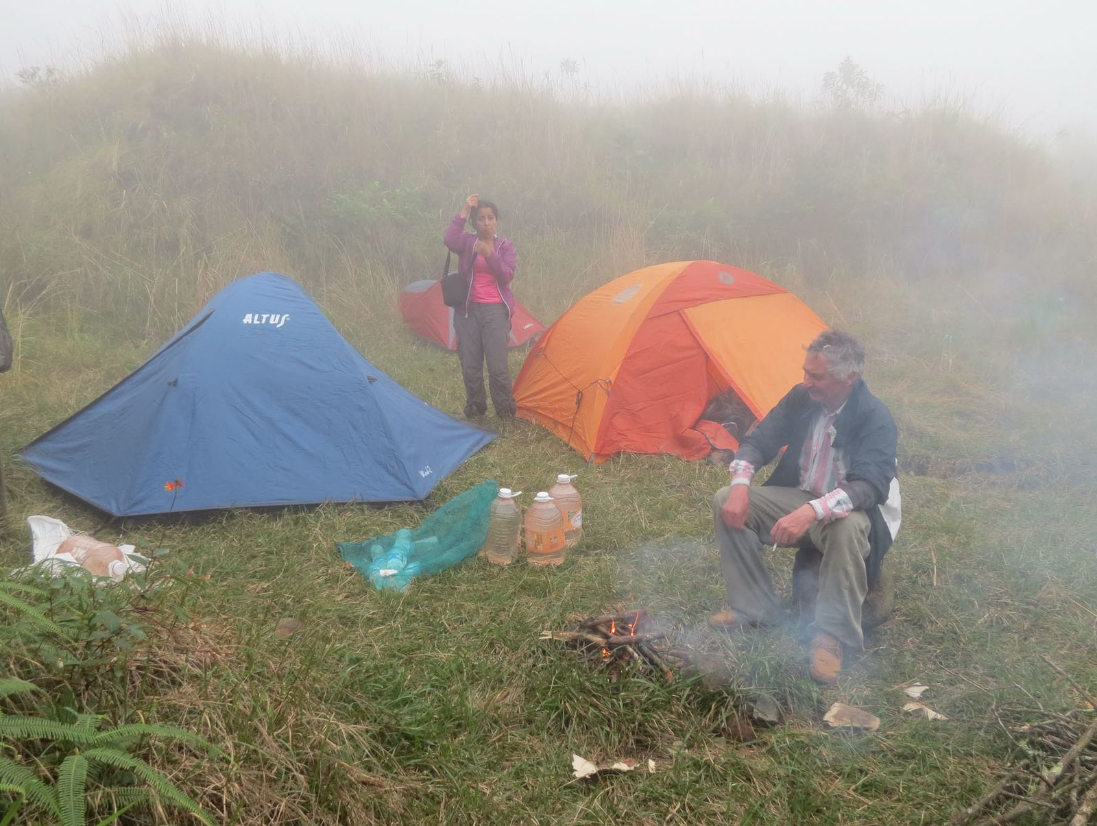 Camping humide au Chichon