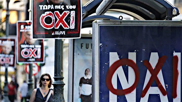 Du respect au mépris: réactions contrastées après le non grec