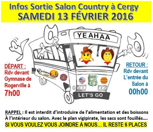 Infos sortie salon country western country road 76 - Salon country western ...