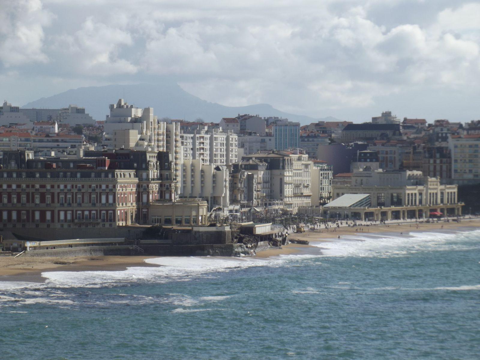 petite halte à Biarritz