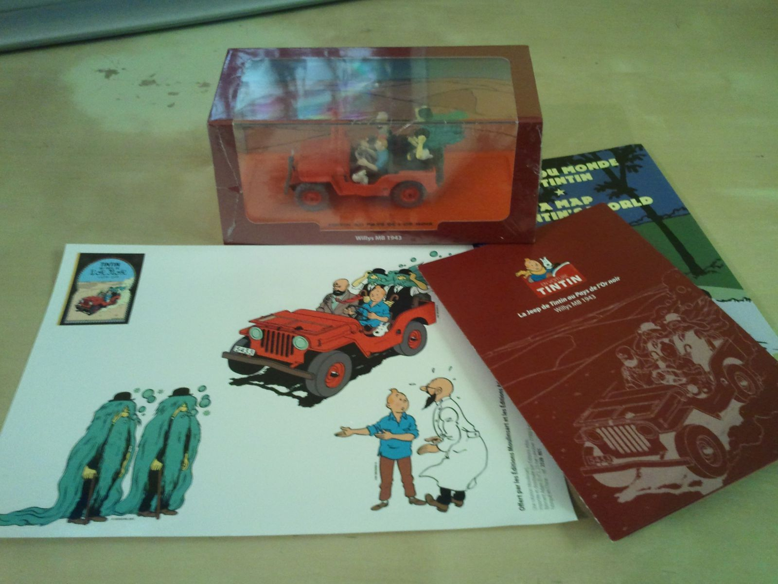 voitures tintin collection