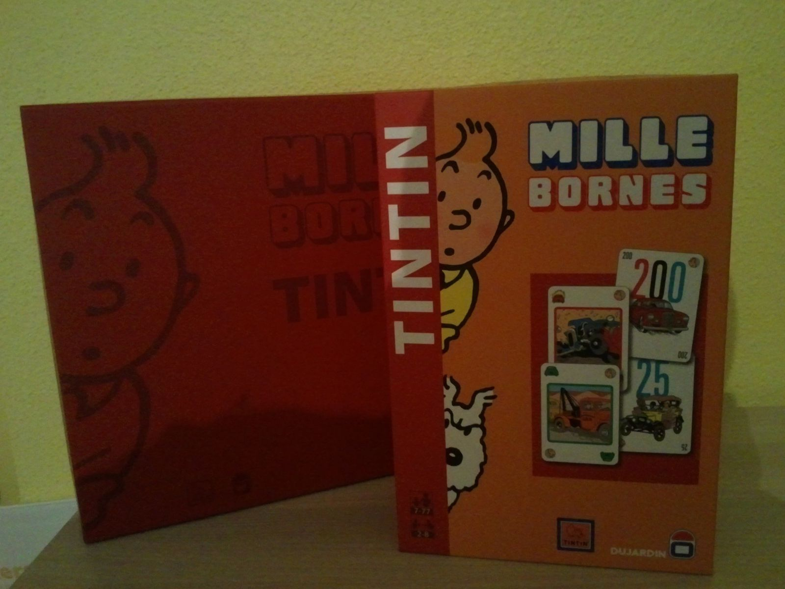 mille bornes tintin collection tintin68. Black Bedroom Furniture Sets. Home Design Ideas