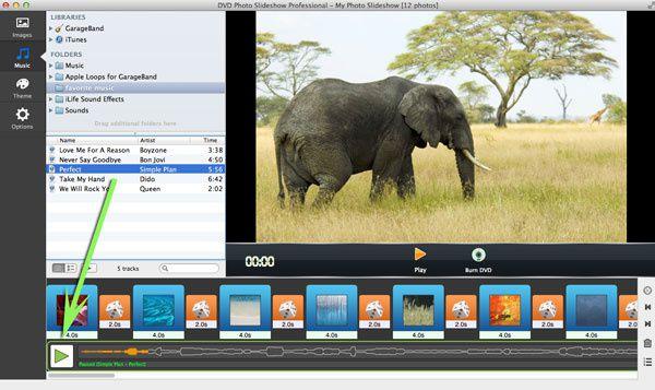 Burn Photo Slideshow to DVD