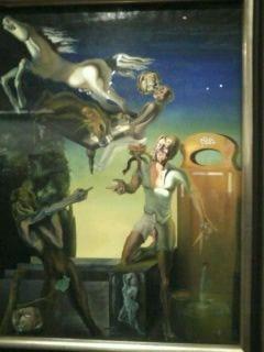 L'exposition Dali avec un enfant