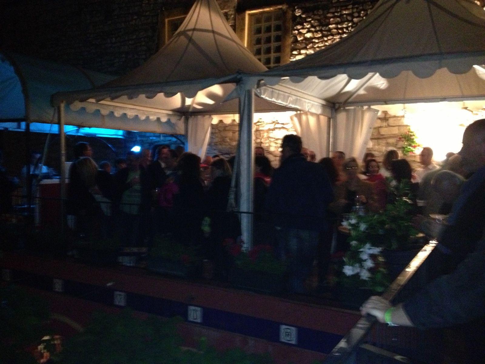 La terrasse VIP de la bodega la plus célébre de Nîmes : Pablo Romero