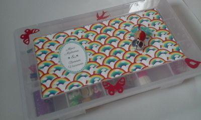 z'avez vu : Smarties et bonbons, évidemment :)
