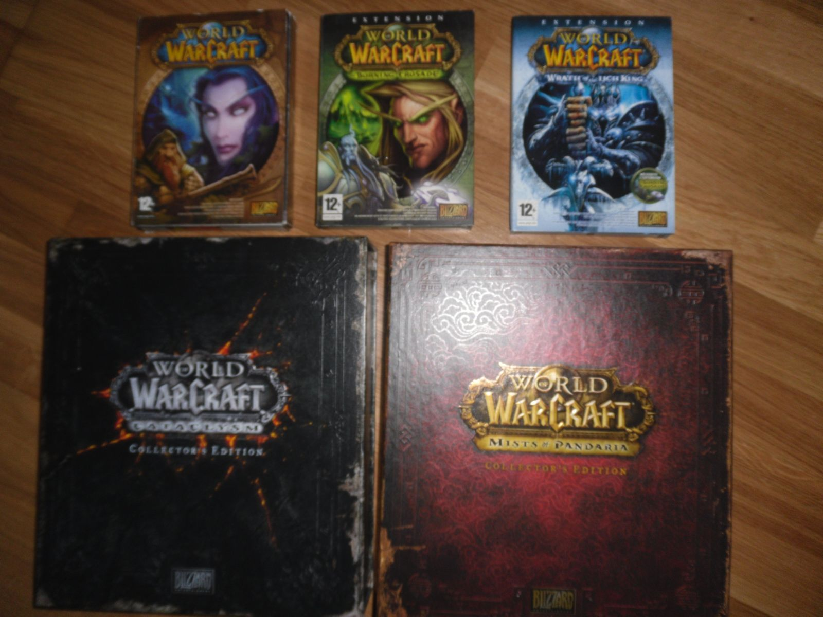 Ma collec PC : du blizzard à gogo