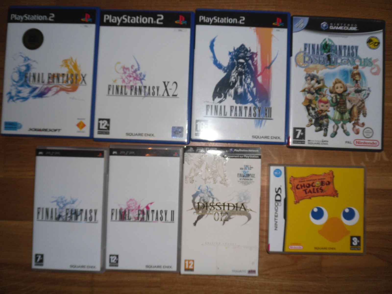 Collection Final fantasy