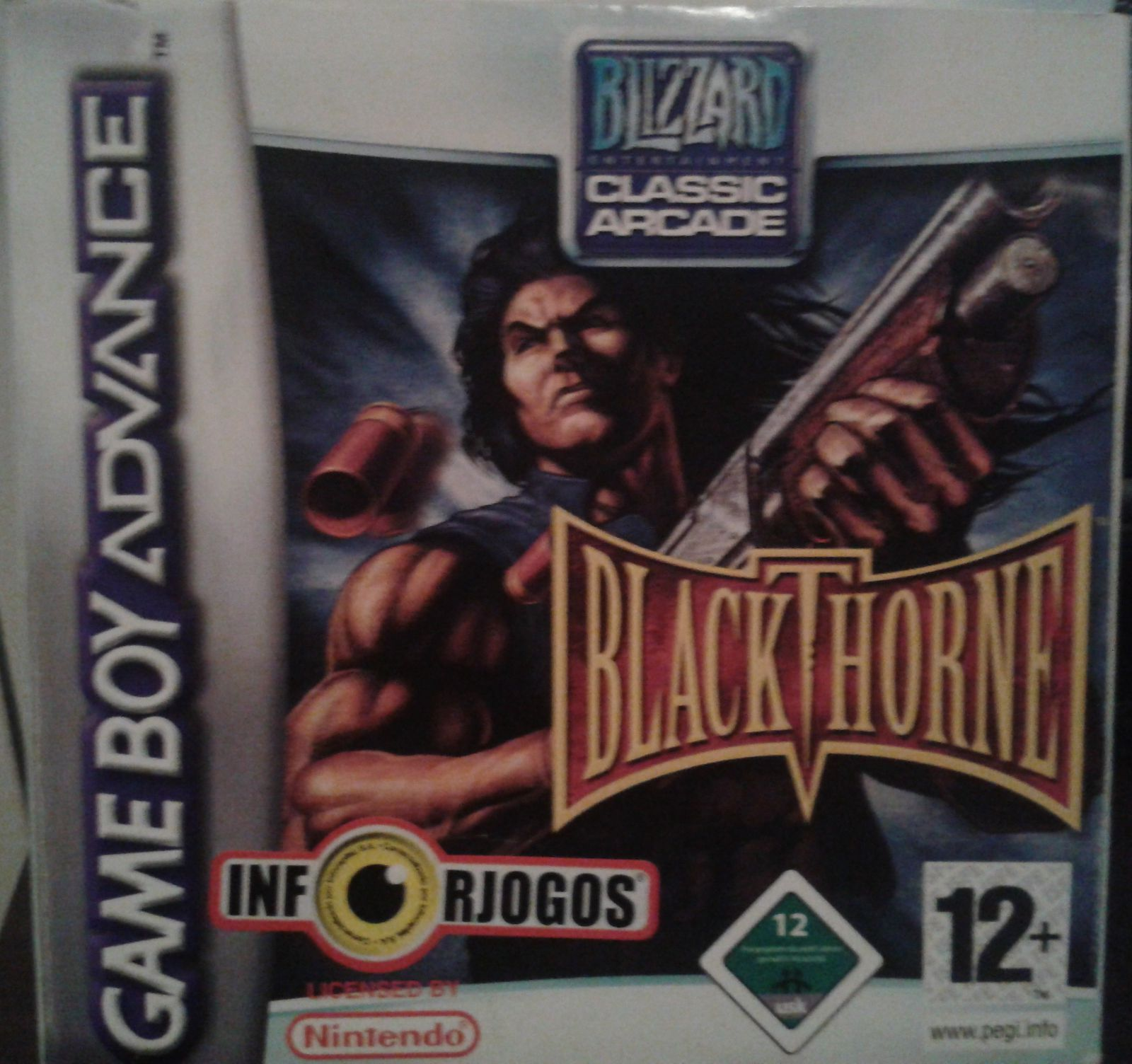 Test : Blackthorne - Game Boy Advance