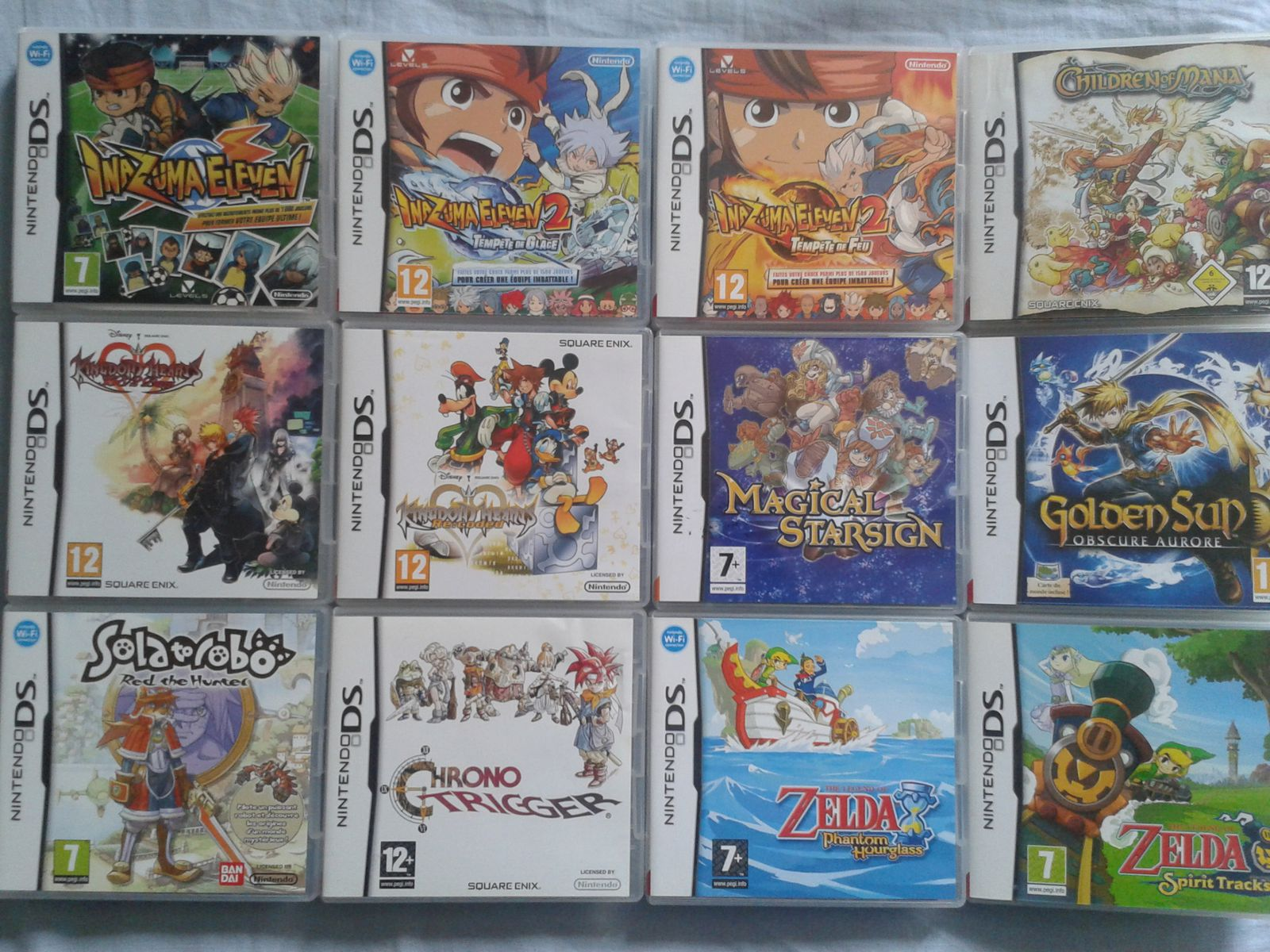 collection DS - 3DS