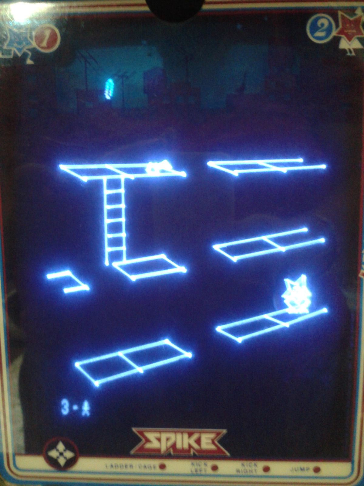 Test : SPIKE sur vectrex