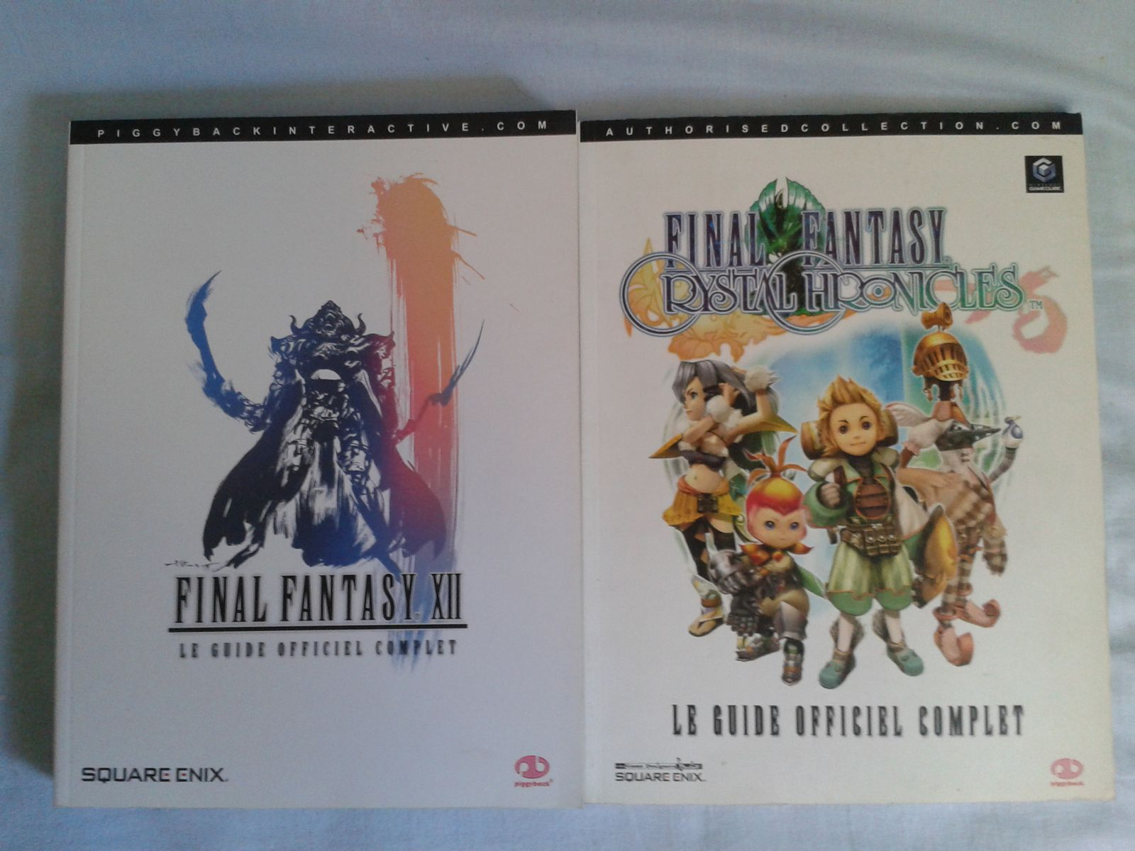 Guides officiels Final Fantasy XII et Final Fantasy Crystal Chronicles