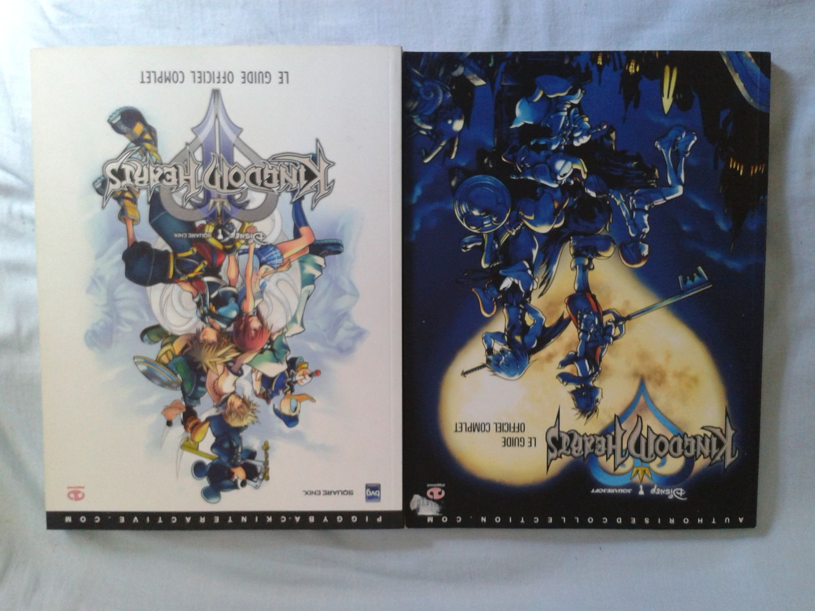 guides officiels Kingdom Hearts 1 et 2