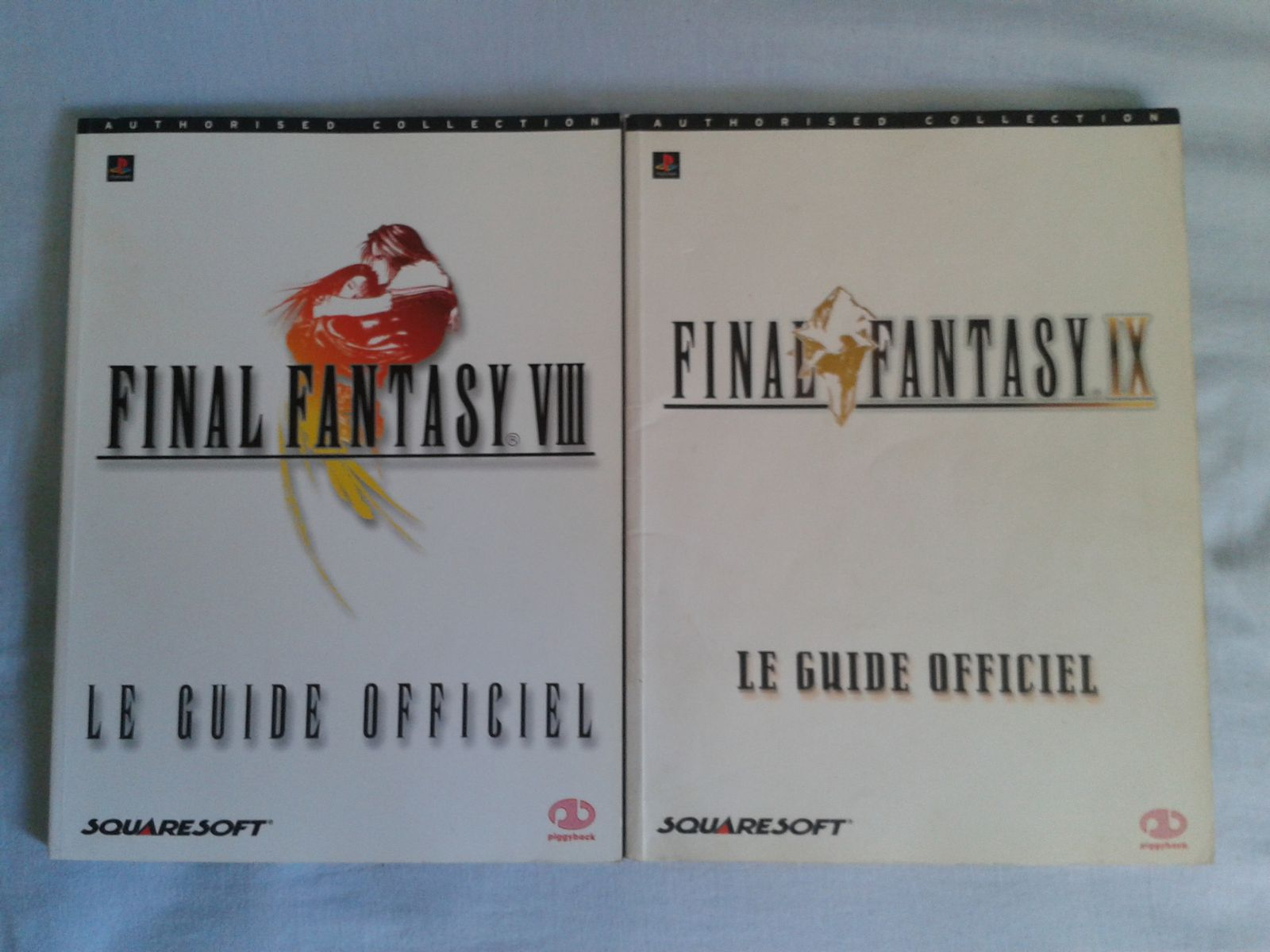 guides officiels Final fantasy VII et IX