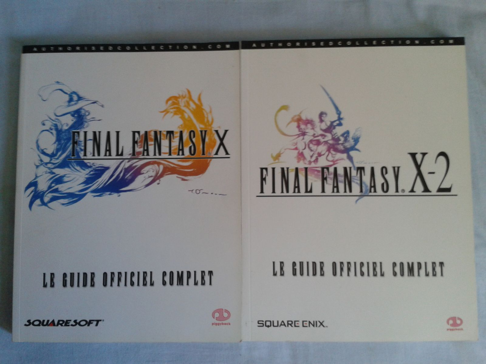 guides officiels Final fantasy X et X-2