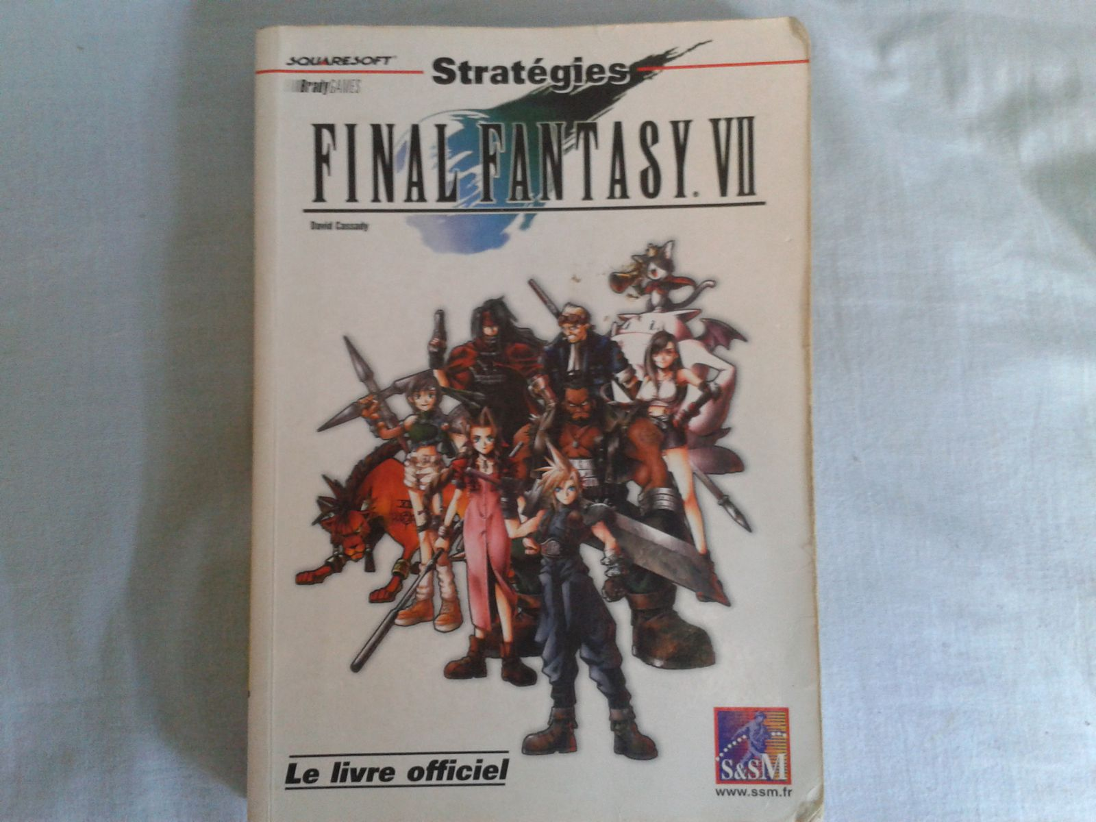 guide officiel FINAL FANTASY VII (€€€)