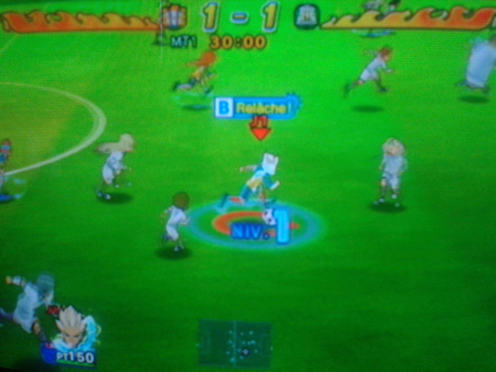 Test : Inazuma Eleven Strikers sur Wii