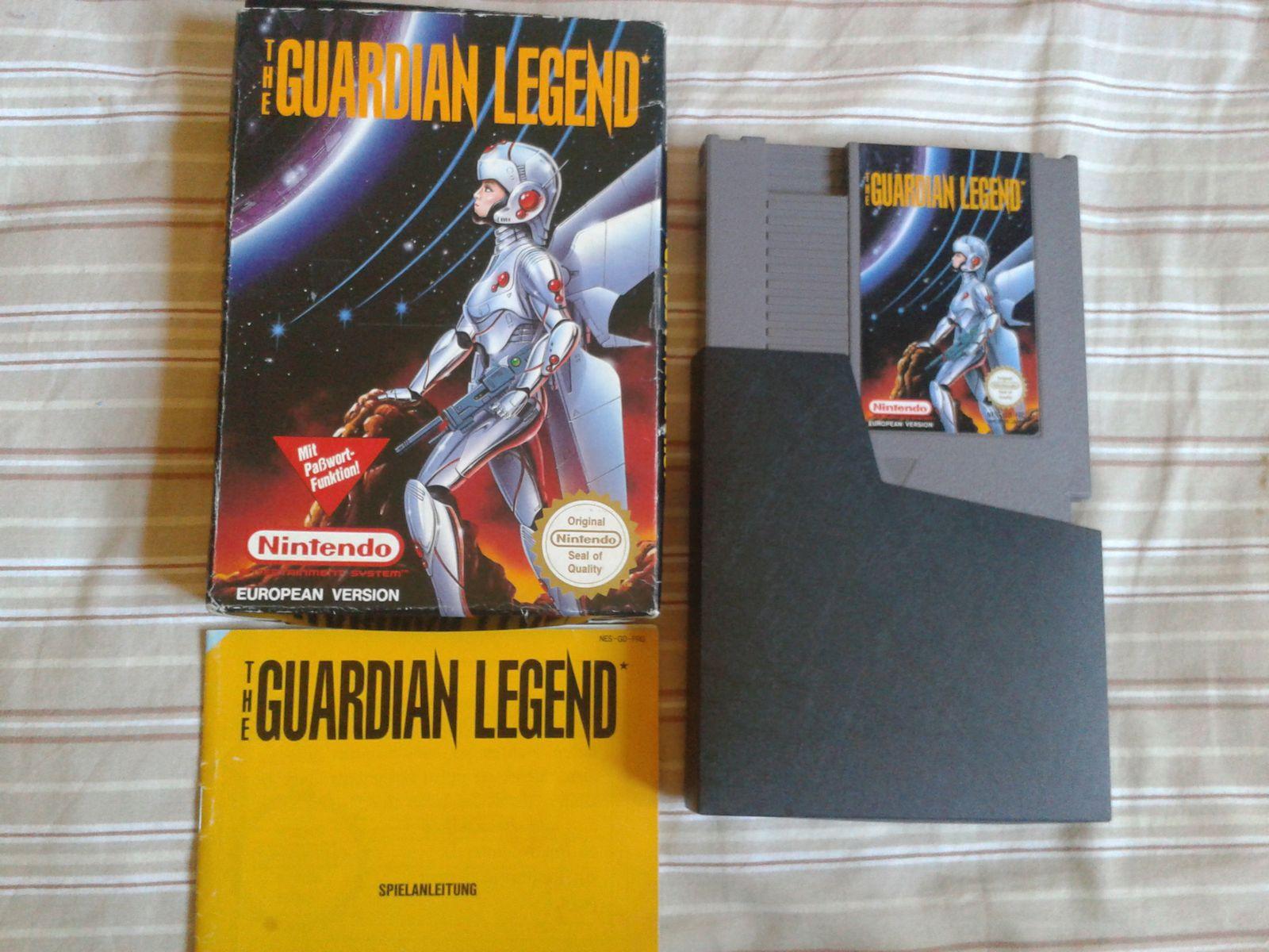 Guardian legend (European version)
